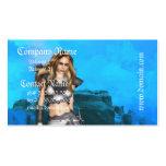 Elf Warrior  Business Cards