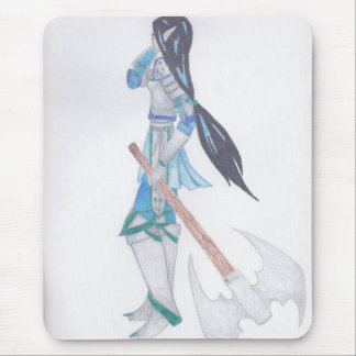elf warrior mouse pad