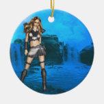 Elf Warrior Ornament
