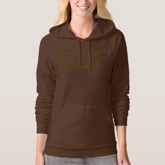Elf Weapons Collage Hooded Pullover