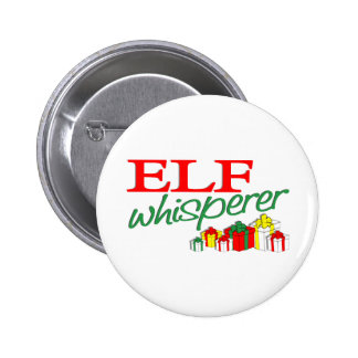 Elf Whisperer 2 Inch Round Button