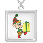 elf with gift jewelry