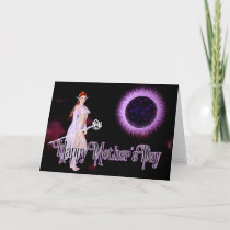 Elf with Staff - Fantasy Mother's Day Card