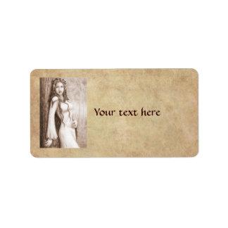 Elfa Address Label