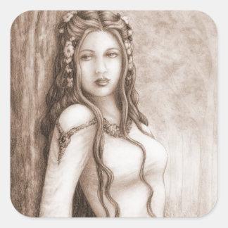 Elfa Square Sticker