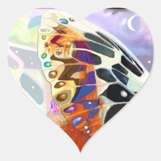 Elfen Heart Heart Sticker