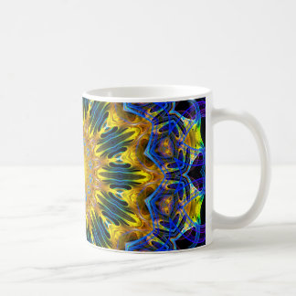 Elfen home Mandala (applied & blue) Coffee Mug