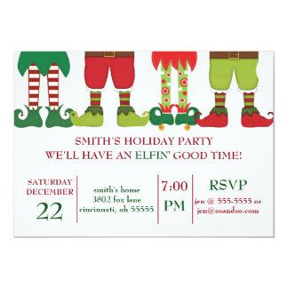 Elfin' Holiday Party Invitation