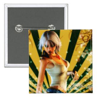 Elfin Model 2 Inch Square Button