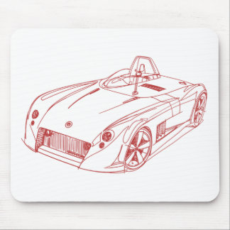 Elfin Streamliner MS8 2004 Mouse Pad