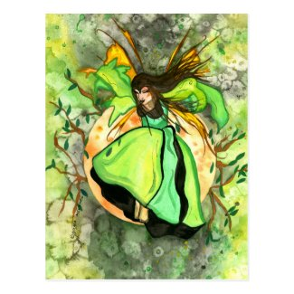 Elfrida The Brave Fairy Postcard
