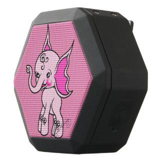 Elfy Elephant Pink Black Bluetooth Speaker