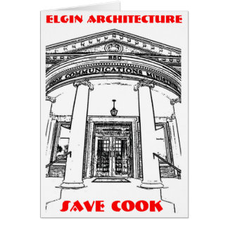 Elgin Architecture • Save Cook Card