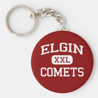 Elgin - Comets - Elgin High School - Marion Ohio Keychain