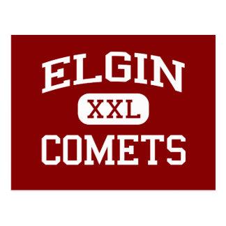 Elgin - Comets - Elgin High School - Marion Ohio Postcard