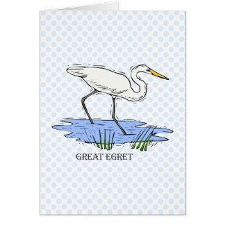 Elgin Egret Card