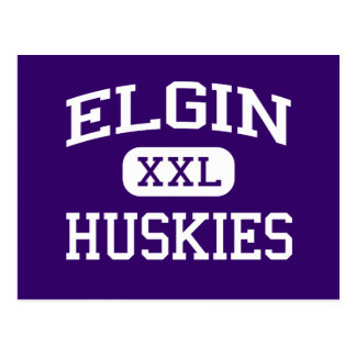 Elgin - Huskies - Elgin High School - Elgin Oregon Postcard
