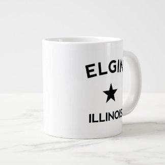 Elgin Illinois Jumbo Mugs