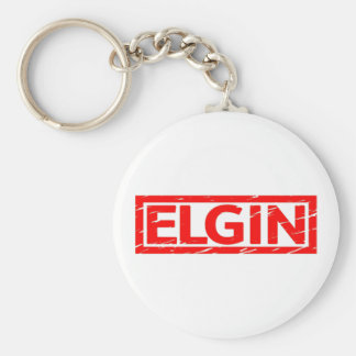 Elgin Stamp Keychain