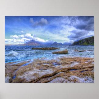Elgol, isla de Skye Póster