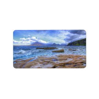 Elgol, Isle of Skye Label