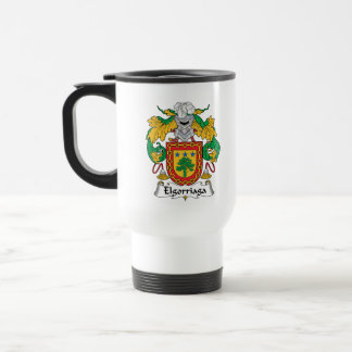 Elgorriaga Family Crest Coffee Mugs