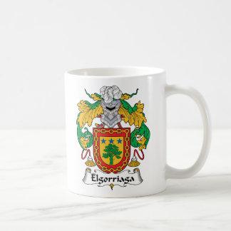 Elgorriaga Family Crest Mug
