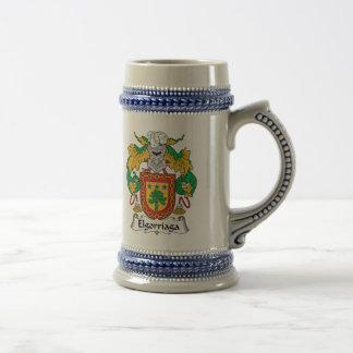 Elgorriaga Family Crest Mugs