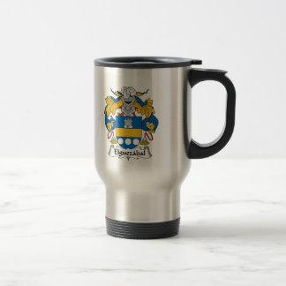 Elguezabal Family Crest Coffee Mug
