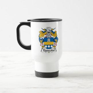 Elguezabal Family Crest Mug