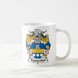 Elguezabal Family Crest Mugs