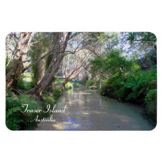 Eli Creek Fraser Island, Australia, Premium Magnet