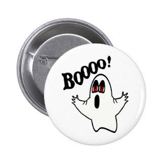 "¡Eli, el fantasma expresivo con ""Boooo! "" Pin Redondo 5 Cm"