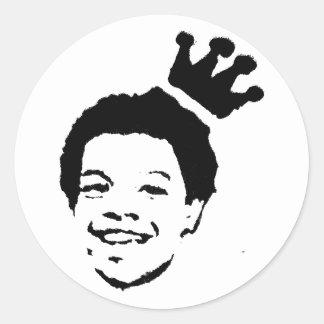 Eli Lopez Design Classic Round Sticker