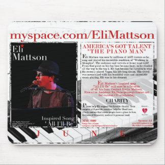 ELI MATTSON de nuestro calendario 2009 - PROMO Mou Tapete De Raton