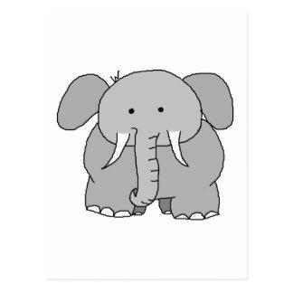 Eli the Elephant Postcard