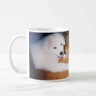Eli the Great Pyrenees Puppy Coffee Mug