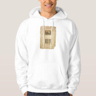 Eli Whitney's Patent for the Cotton Gin in 1794 Hoodie