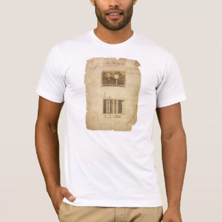 Eli Whitney's Patent for the Cotton Gin in 1794 T-Shirt