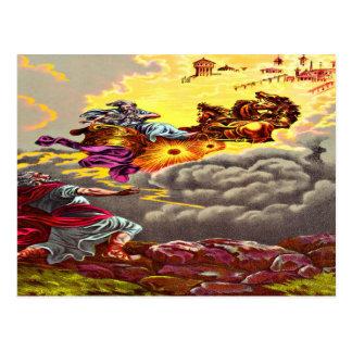 Elías asciende a la postal del cielo