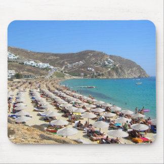 Elias Beach, Mykonos, Greece Mouse Pad