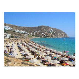 Elias Beach, Mykonos, Greece Postcards