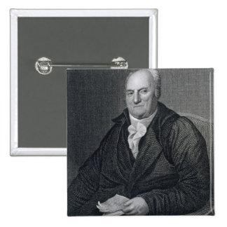 Elias Boudinot, engraved by John Wesley Paradise ( Pinback Button