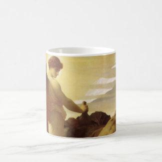 Elías en desierto por Leighton, arte del Victorian Tazas De Café