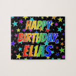 "[ Thumbnail: ""Elias"" First Name, Fun ""Happy Birthday"" Jigsaw Puzzle ]"