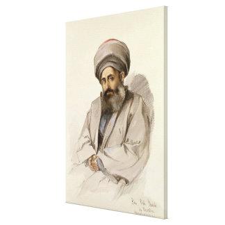 Elias - sacerdote de Jacobite de Mesopotamia Lona Envuelta Para Galerías