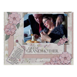 Elie Grand mère & Grand père Postcard