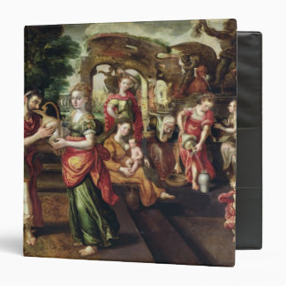Eliezer and Rebecca at the Well, 1562 3 Ring Binder