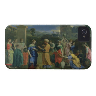 Eliezer and Rebecca at the Well, 1648 (oil on canv iPhone 4 Cover
