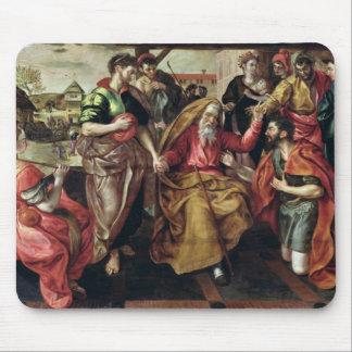 Eliezer que pide Rebecca casar a Isaac, 1562 Alfombrilla De Raton